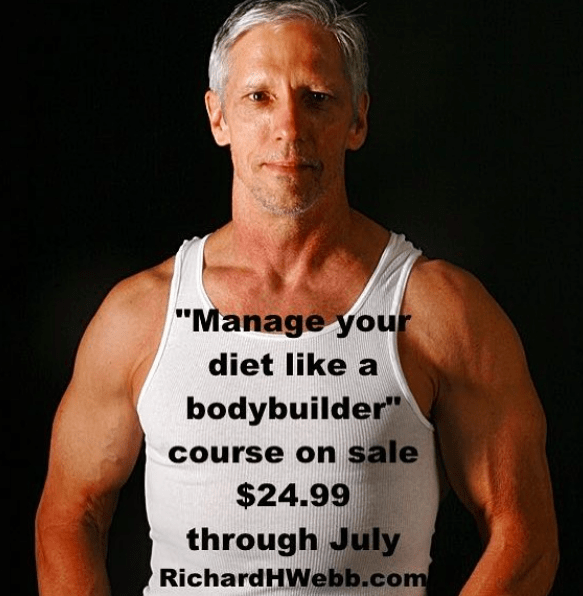 Manage your diet like a bodybuilder course